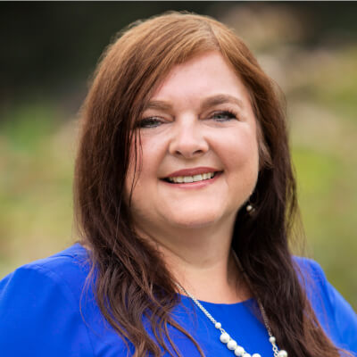 Headshot of Brenda Smith, CEBT, CTBS, Director of Communications Center, We Are Sharing Hope SC