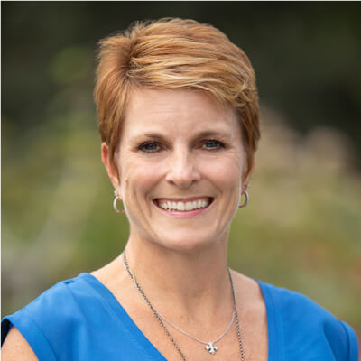 Headshot of Traci Adams, RN, Director of Clinical Development, We Are Sharing Hope SC
