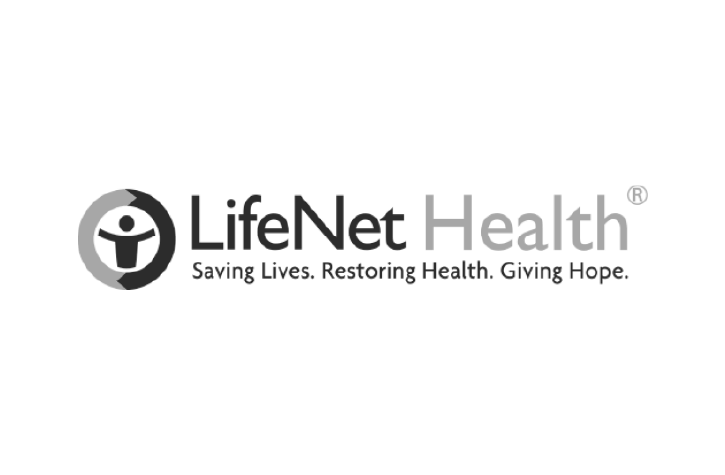LifeNet Health Logo with Tagline